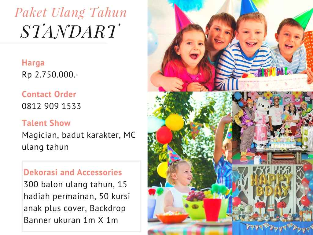 paket ulang tahun anak murah dan hemat